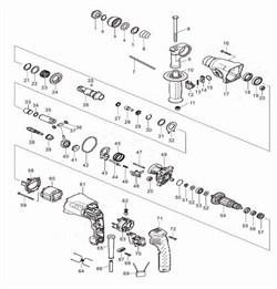 Фиксатор переключателя перфоратора Зубр ЗП-470Э (рис.14) - фото 67025