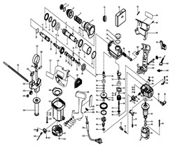 Кольцо стопорное перфоратора Зубр ЗП-900-ЭК (рис.62) - фото 67295