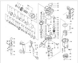 Кольцо стопорное сжимное D15,5 перфоратора Зубр ЗП-1050-ЭК (рис.73) - фото 67407