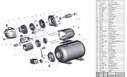 Ротор насосной станции Grinda 8-43240-800 (рис.45) - фото 67644