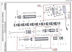 Вал скважинного насоса Grinda 8-43230-800-S (рис.14) - фото 67664