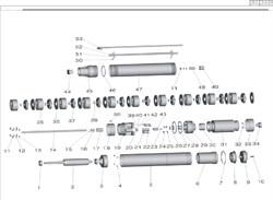 Болт М8х21 скважинного насоса Grinda 8-43230-1300-S  (рис.10) - фото 67711