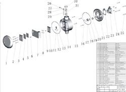 Прижим проводов поверхностного садового насоса Grinda 8-43237-1100-S (рис.66) - фото 67802