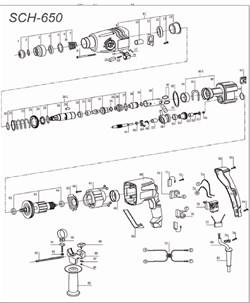 Конденсатор 0,33мкф штробореза ЗУБР ЗШ-1500 №77