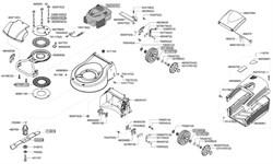 Рычаг подъёма газонокосилки Al-Ko Vario 470 B (рис. 527700)
