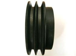 Сцепление виброплиты два ручья, профиль ремня 17 мм, внешний диаметр 130 мм, внутренний 18 мм