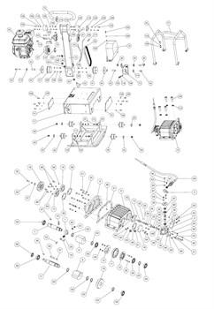 Амортизатор 50х20хШхМ16х72 виброплты Grost VH160R - фото 69124
