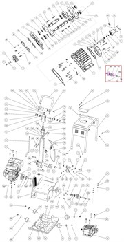 Кольцо уплотнительное поршня гидропривода 22х14х5 вибратора GROST VH 330R