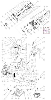Прокладка гидропривода и крышки картера вибратора GROST VH 330R