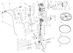 Редуктор для затирочной машины GROST ZM600 - фото 69464