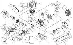 картер двигателя триммера Sturm! BT8933BL (рис.23) - фото 70106