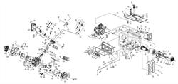 Пробка бензобака генератора AL-KO 6500-C (130932) №20 - фото 70367