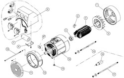 Крыльчатка генератора CAIMAN Expert 2410 №2