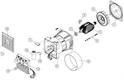 Фланец передний генератора CAIMAN Expert 3010 X №1 - фото 70450