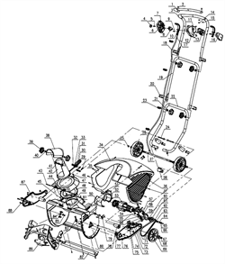 Шкив ремня привода шнека снегоуборщика SUNGARDEN ST 45 №69 - фото 70513