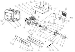 Топливный бак генератора FUBAG BS 5500 №46