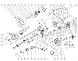 Шатун в сборе генератора FUBAG BS 6600 №56