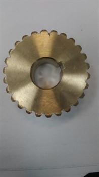 Шестерня редуктора шнека снегоуборщика 26 зубьев, под вал 20 мм, наружный диаметр 73 мм - фото 71484