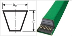 Ремень клиновой 5L 640 CONTI-V ROFLEX GARDEN - фото 71678