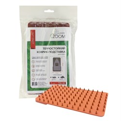 Термостойкий коврик-подставка Zoom для утюга, 235х135 мм