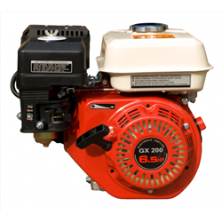 Двигатель бензиновый GX 200 вал 20 мм - фото 7548