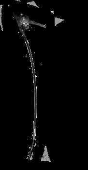 Трос газа виброплиты Masterpac PC5018 - фото 8127