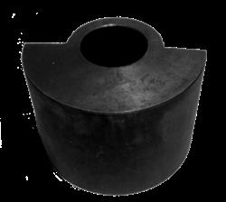 Дебалансный грузик виброблока виброплиты DIAM VMR-115 (груз ведомого вала)