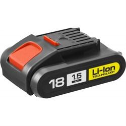 "Аккумуляторная батарея ""М1"" 18 В, Li-Ion, 1.5 Ач, ЗУБР - фото 84901"