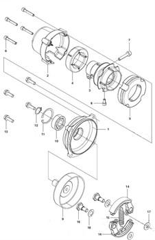 Виброизолятор триммера Husqvarna 143R II (рис 5)