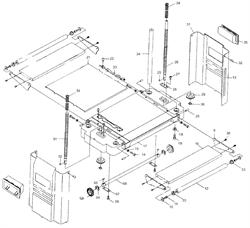 Удлинитель стола рейсмусового станка Энкор Корвет 21 (рис.16)