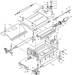 Кожух защитный цепи рейсмусового станка Энкор Корвет 21 (рис.31)