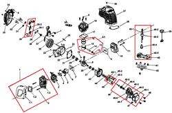 Теплоизолятор триммера Champion T252 (рис 6)
