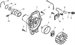 Провод выключения зажигания триммера Echo GT-22GES (рис. 12)