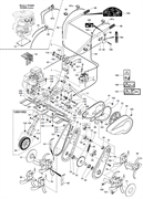 Защита от разброса грунта культиватора Pubert ECO 45RC2,50TC2,50BC2,55HC2,50HC2,40HC2 (рис.3)