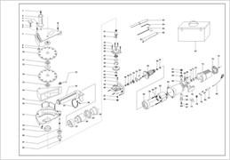 Винт М4х10 PH2 (потай) штробореза ЗУБР ЗШ-1500 №54