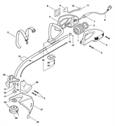 Вентилятор триммера Fubag TE1100  (рис. 2)