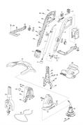 Защитная крышка триммера Gardena AccuCut 400Li (рис. 27)