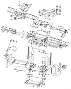 Вал ножевой рейсмусового станка Кратон WMT-06(рис.45)
