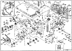 Крепеж фланца деревообрабатывающих станков Энергомаш ДМ-19240 (рис.11)