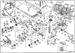 Шестерня деревообрабатывающих станков Энергомаш ДМ-19240 (рис.37)