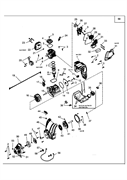Цилиндр триммера MTD 990 (рис. 6)