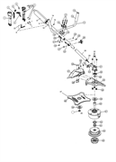 Редуктор триммера MTD 790 (рис. 31)