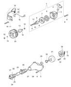 Барабан сцепления триммера Oleo-Mac Sparta 44 (рис. 31)