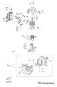 Глушитель триммера Oleo-Mac 753Т (рис. 3)