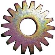 Звездочка стальная плоскозубая для фрезеровальных машин GROST