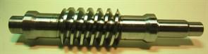 Червячный вал правого редуктора двухроторной затирочной машины Masalta MT836 - фото 13378