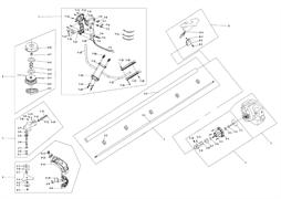 Муфта сцепления в сборе триммера Калибр БК- 800/4М (рис. 2)