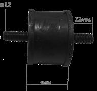 Подушка-амортизатор виброплиты 150-210 кг