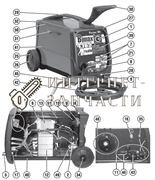 Термостат сварочного полуавтомат Telwin BIMAX 4.165 TURBO 121714