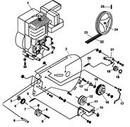 Двигатель культиватора Champion BC 6612H (рис. 1)